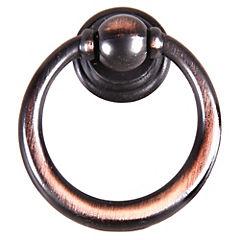 Perilla Aro cobre negro 32mm