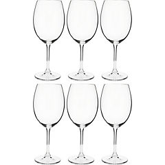 Set 6 copas cristal 580 ml transparente