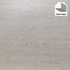 Porcelanato 60 x 60 cm Travertino Arena 1.44 m2