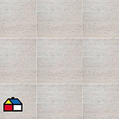 Porcelanato 60 x 60 cm Travertino Beige 1.44 m2