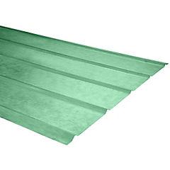 0,5mm x 0,90x3,00 m plancha traslucida  5V verde