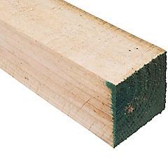 3x3'' x  3.2 m Pino dimensionado verde