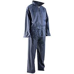 Abrigo impermeable talla XL azul