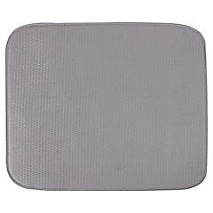 Paño escurridor 15,2x43 cm microfibra Gris