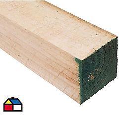 4x4'' x  3.2 m Pino dimensionado verde