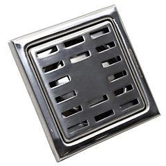 Pileta de acero inoxidable 10x10 cm