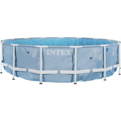 Set piscina estructural 457x107 accesorios for Piscina estructural intex