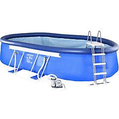 Set piscina 6,10x3,66x1,22 m 16628 l Azul