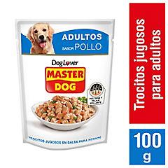 Sobre Trocitos Jugosos 100 gramos Pollo