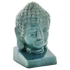 Figura Buda Turquesa 18 x 19 x 31 cm