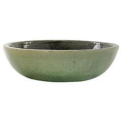Macetero de cerámica 32x10 cm Azul