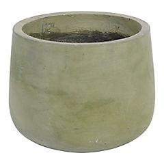 Macetero de cerámica 30x23 cm Verde