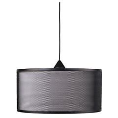 Lámpara de Colgar Metálica 1 luz Negra