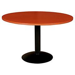 Mesa reunión redonda 90 cm Cedro