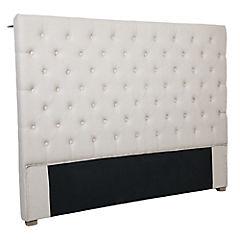 Respaldo para cama 120x170x8 cm Beige