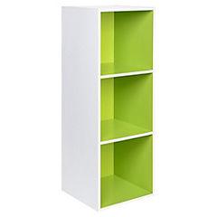 Módulo 30,4x29x89 cm verde/blanco