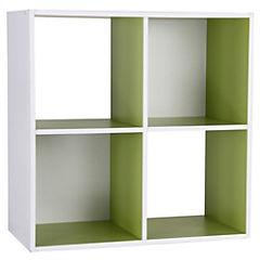 Modulo 59,8x29x59,8 cm verde/blanco