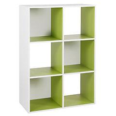Módulo 59,8x29x89,1 cm verde/blanco