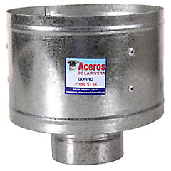 Gorro para tubo Acero galvanizado 4
