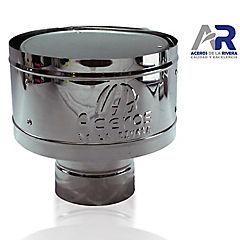 Gorro para tubo Acero galvanizado 4,5