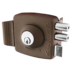 Cerradura sobreponer Security Platinum café
