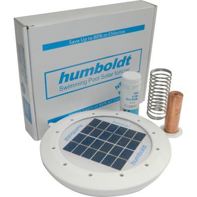 Ionizador solar para piscina 6x26x21 cm for Ionizador para piscinas