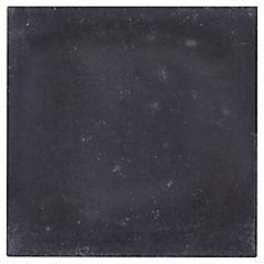 Baldosa lisa 21x21 cm 0,48 m2 Negro