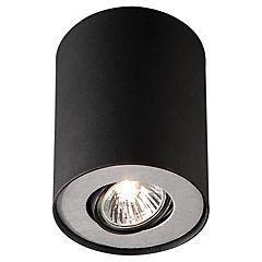 Foco Nero Metal 1 luz Negro