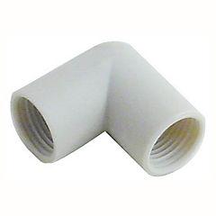 20 mm Codo Polipropileno roscado