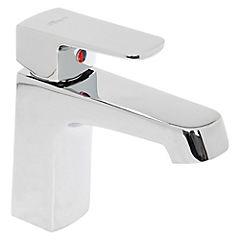 Monomando para lavamanos manual Plateado