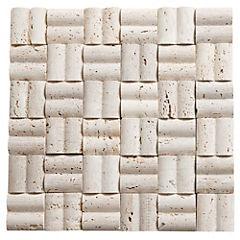 Malla Mosaico 30 x 30 cm Mármol Olas