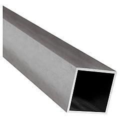 40 x 40 x 2 mm x 6 mt Tubo Galvanizado Cuadrado