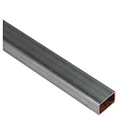30 x 20 x 1.5 mm x 6 mt Tubo Galvanizado Rectangular