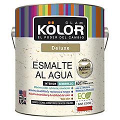 Esmalte al agua semibrillo interior 1 gl blanco/pastel