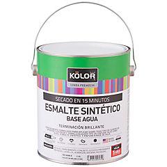 Esmalte Metales Brillante 15 minutos 1 galón Negro