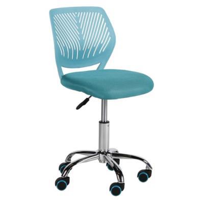 Silla para pc 40x45x75 85 cm turquesa for Sillas de escritorio sodimac