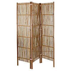 Biombo bambú 183x45 cm