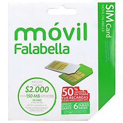 Kit Hab Móvil Falabella Sim