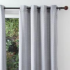 Set de cortinas Java 140x230 cm 2 paños gris