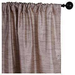 Set de cortinas texturadas 140x230 cm 2 paños ocre