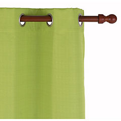 Cortina Black Out texturada 140x220 cm verde