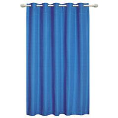 Cortina Texturada 200x220 cm Azul