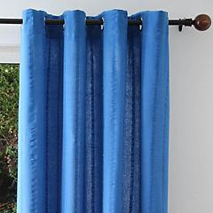 Cortina 2 paños 150x230 cm Azul