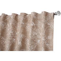 Cortina Flores 150x230 cm