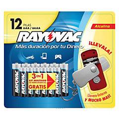 BLISTER RAYOVAC AAAX12 ALC