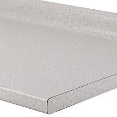 Cubierta para mesón de cocina 240x62 cm Snow dirt
