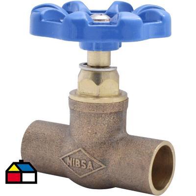 Llave de paso so so 1 2 metal for Llave de paso de agua