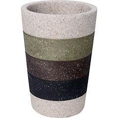 Vaso resina Etniko 7.8 x 11.5 cms