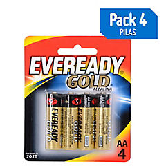Pila Eveready Gold Alcalina AAx4
