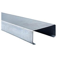 Perfil estructural Metalcon C 2x5x0,85x6,0 metros perforado